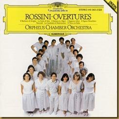 Rossini Oberturas Orpheus