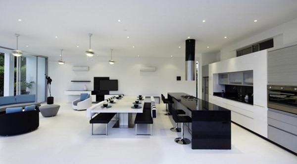 diseño-de-casa-moderna-cocina-integrada-minimalista