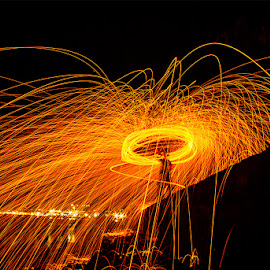 Steel Wool by Archangel Michael - Abstract Light Painting