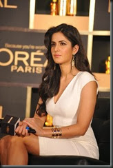 Katrina Kaif at New Hair Care Range of L'Oreal Paris Launch Photos