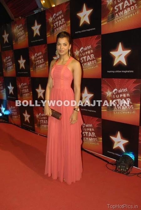 Anjana Sukhani Hot Pics in Golden Dress 4