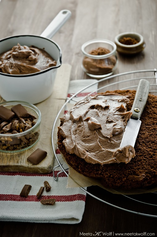 Chocolate Ovamaltine Daim Cake (0015)by Meeta K. Wolff