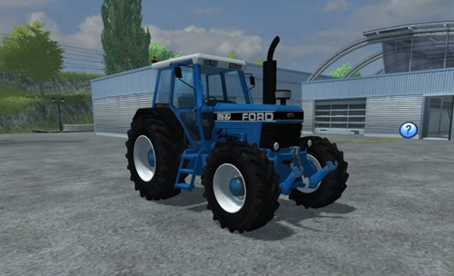 Farming simulator 2013 - Ford 8630 4wd v 5.0
