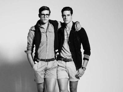 Zach + Jordan Stenmark @ Vivien's/Premier by Pierre Toussaint for GQ Australia, Aug/Sept 2011