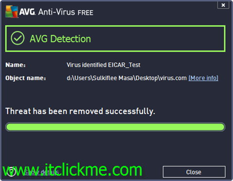 วิธีทดสอบประสิทธิภาพ Anti-Virus 5