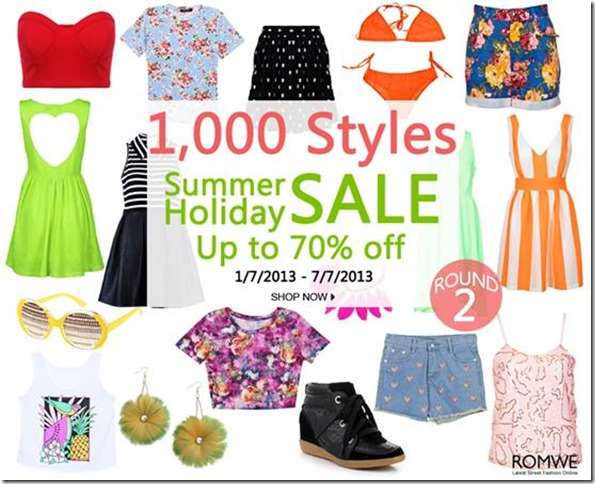 Holiday Sale Summer