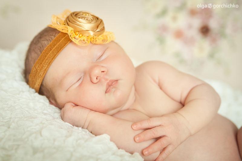 Фотосессия новорожденной в Гродно. Ксюша 2 недели_-12