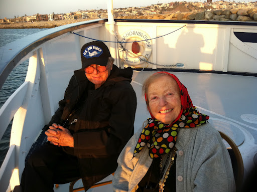 Don in his favorite hat- enjoying some time on the water with Dena!