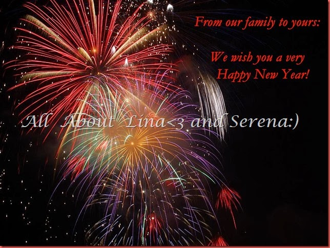 2014 New year card for blog