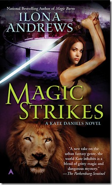 book cover of Magic Strikes by Ilona Andrews