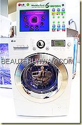 LG washing machine Marina Bay Sands