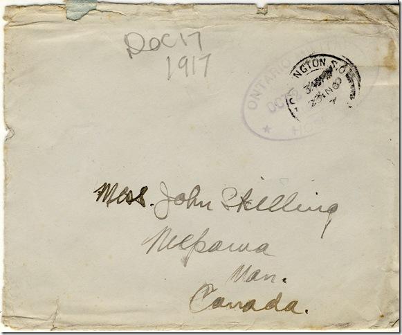 11 Nov 1917 frontenvelope