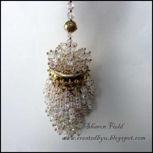 1.Antique Acorn Tea Strainer Ornament