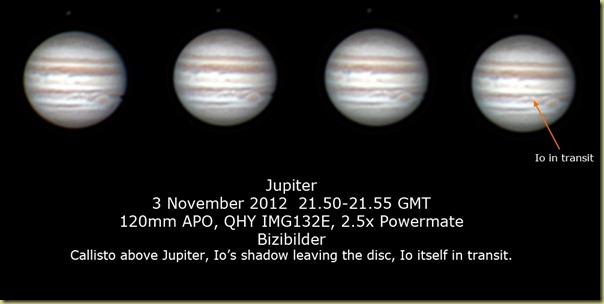 2 November 2012 Jupiter