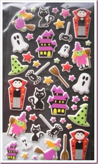 Accessorise Halloween Stickers