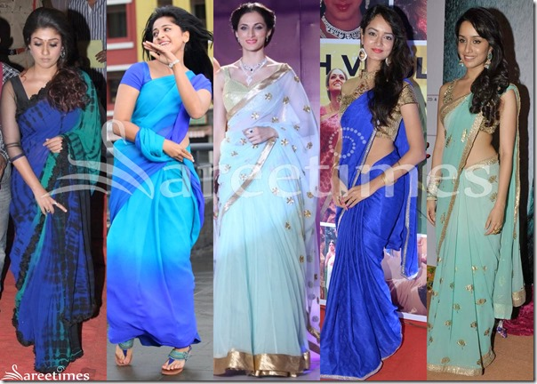 Blue_Saree_Fashion