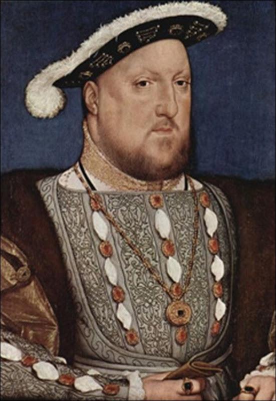 Holbein,Portrait d'Henri VIII D'Angleterre