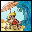 Dibujo playa