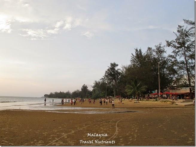 沙巴亞庇丹容亞路海灘夕陽 Perdana Park音樂水舞 (6)