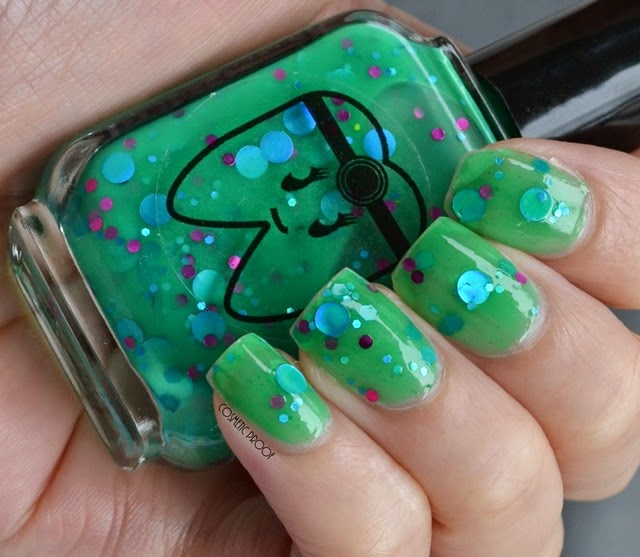 Doctor Lacquer - Serotonin Swatch Review (2)