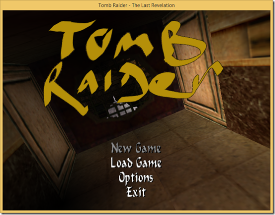 In game title screenshot