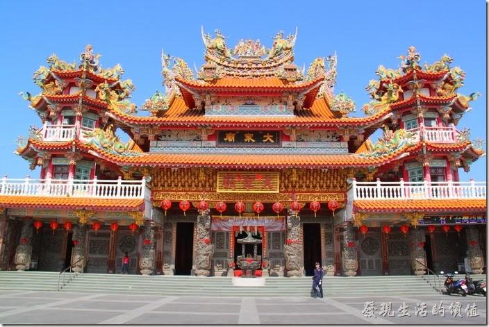 台南-四草大眾廟。 四草的綠色隧道、台江航線的起點都在大眾廟的旁邊,這裡有免費的停車場,很方便。