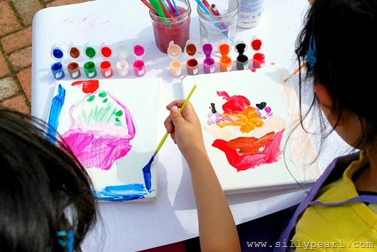 Kids Art Party Ideas and Tips