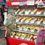 crepes in harajuku in Harajuku, Tokyo, Japan