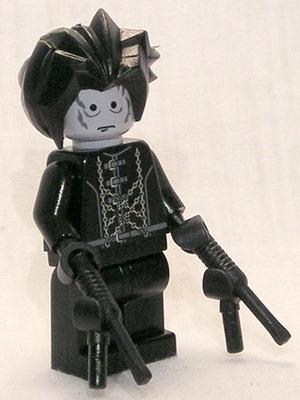 Lego Edward Scissorhands de corran101