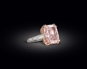 Majestic Pink Diamond of 12.27 carats