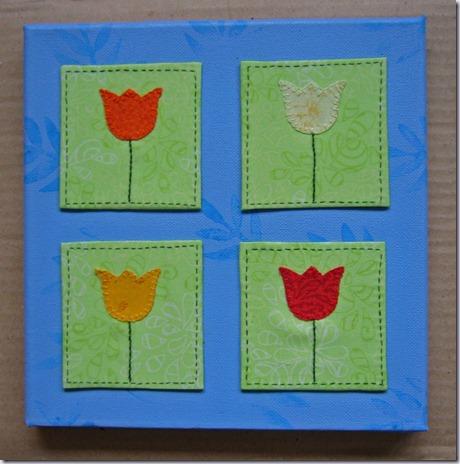 schilderijtje-4-tulpen