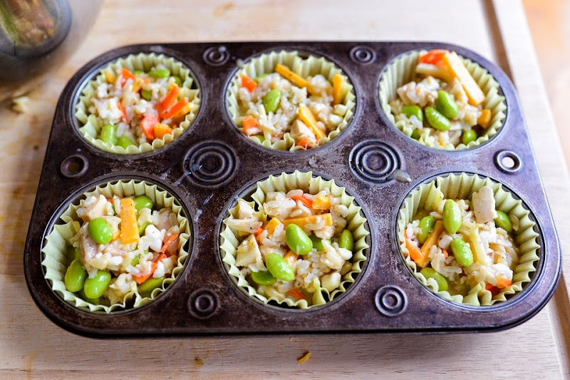 mini rice chicken edemame bake-11202