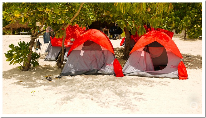 calaguas tents