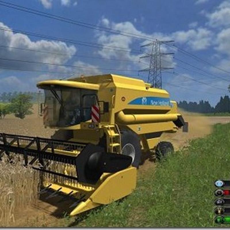Farming simulator 2011 - New Holland TX65 Mietitrebbia