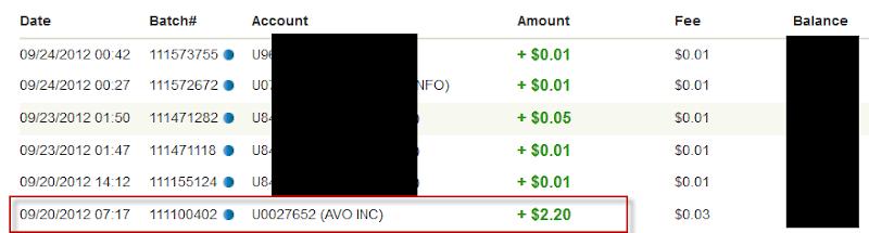 Bukti Pembayaran Avo (Pembayaran Kedua)