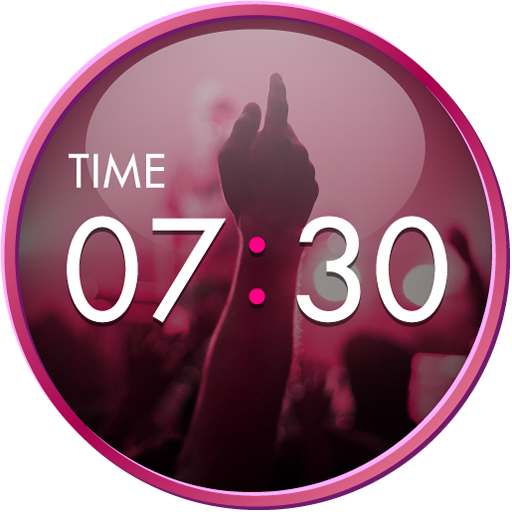 Clock Widget-MUSIC ART LOGO-APP點子