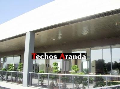 Techos de aluminio en Churriana De La Vega
