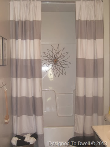 Designed To Dwell Hanging Double Shower Curtains Amp Shower Art