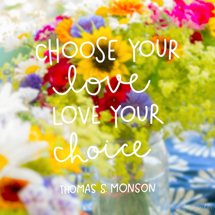 choose your love love your choice