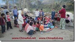 Refugee Children Sunday School