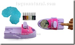 Nail Art Colors Polish Kit Stamper DIY Printer Machine01