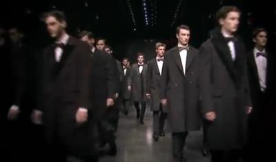 Dolce&Gabbana Menswear FW 2013