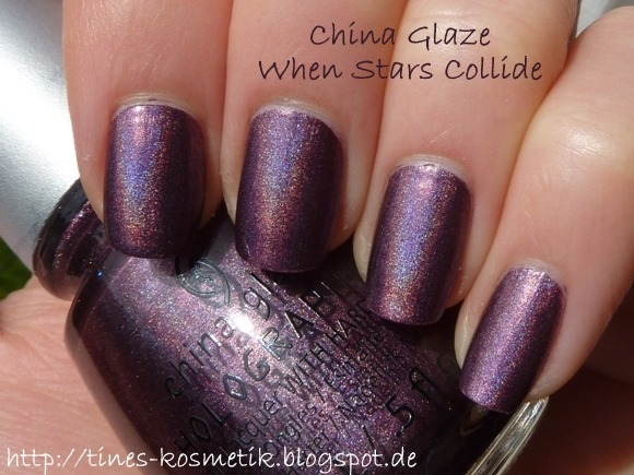 China Glaze When Stars Collide 2