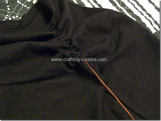 ruched sleeve cardigan (8)