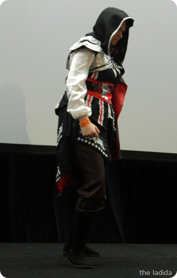 EB Expo Just 'Cos Cosplay Competition - Ezio from Assassins Creed 2