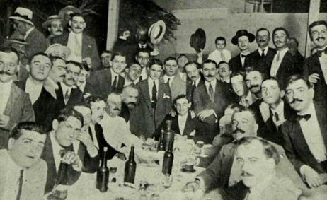 1913-06-30 Malaga homenaje 200 comensales (2)