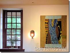 In Dreams I Flew Over the River, by Sue Reno, Installation View