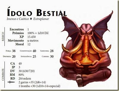 ìdolo Bestial - Bestiário OD, pg 126