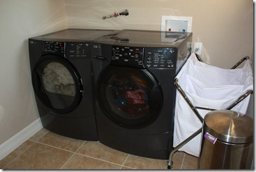 laundry after