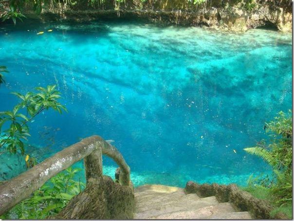 O Rio Encantado de Surigao, Filipinas (1)
